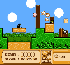 Kirby's Adventure Screenshot!
