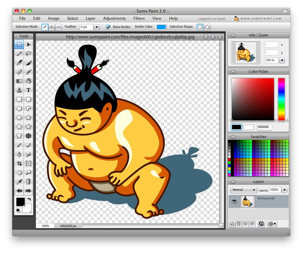 9 superb web based image editors and illustrators byte revel Free sketching online